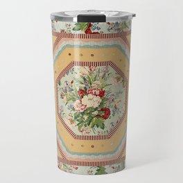 Octagonal Medallion Quilt Travel Mug