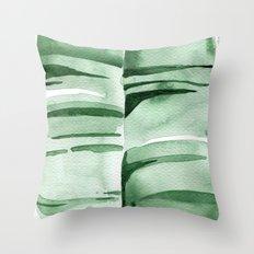 Banana Leaf no.7 Throw Pillow