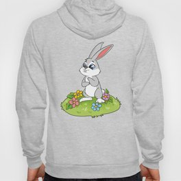 Cute Easter Bunny Rabbit Egg Hunt Hoody