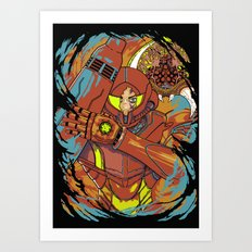 The Huntress. Art Print