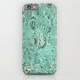 Histological section of my inner world (#4) iPhone Case