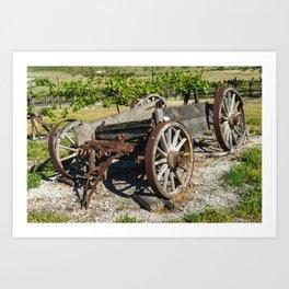 Wagon Art Print
