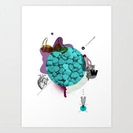 Mental Note #2 Art Print