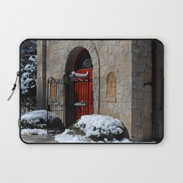 Portiuncula Chapel Doors Laptop Sleeve