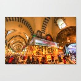 Spice Bazaar Istanbul Canvas Print