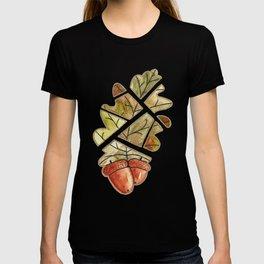 Oak leaf and acorns T-shirt
