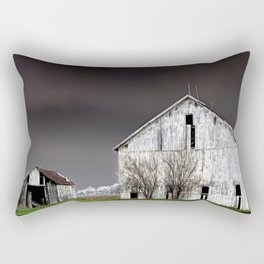 The Barn and Shed - Inverted Art Rectangular Pillow