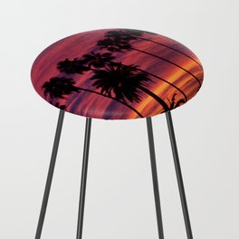Sunset over Hollywood Counter Stool