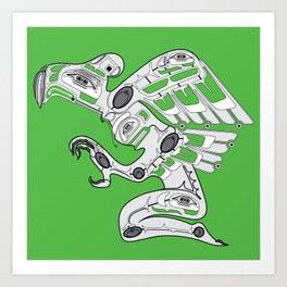 Cyber Punk American Art Print
