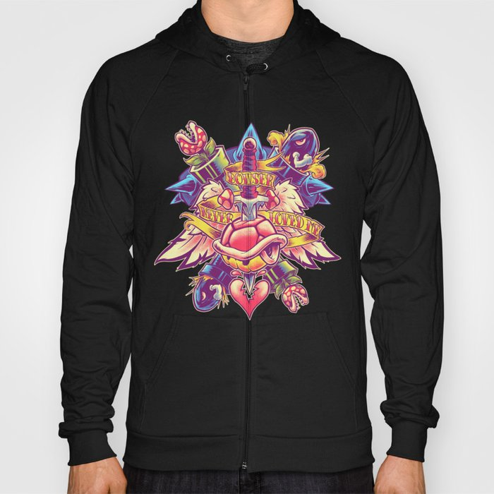 BOWSER NEVER LOVED ME Hoody