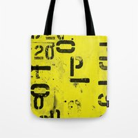 code Tote Bags featuring Code by ayarti