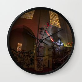 """Welcome To """"The Force Church""""  Wall Clock"""