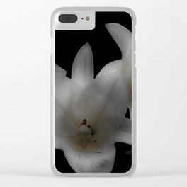Easter Lilies Clear iPhone Case