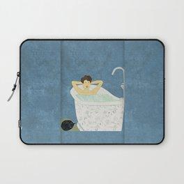 Bathtub Scene Laptop Sleeve