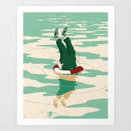 When helping goes bad Art Print