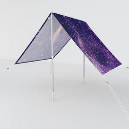 Ultra violet purple abstract galaxy Sun Shade