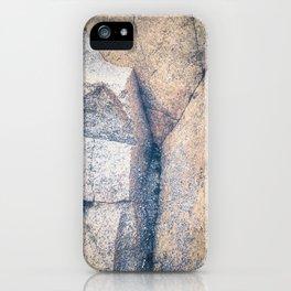 Secret Woman Emerging, Beach Stone iPhone Case