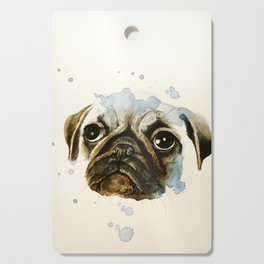 Pug 2 Cutting Board
