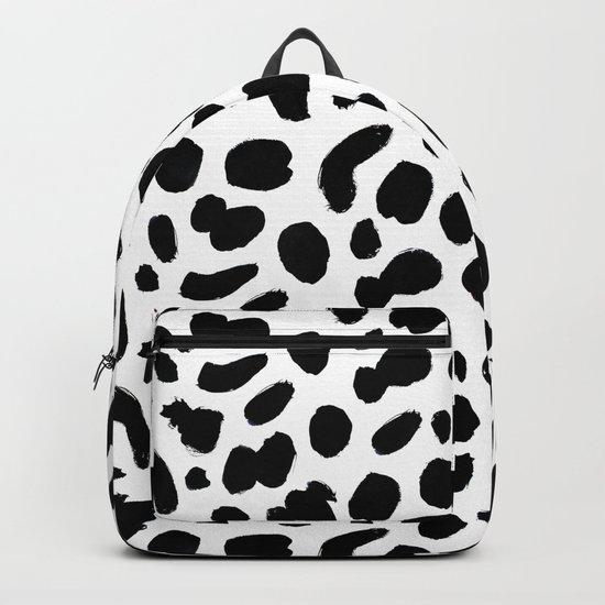 Dalmatian ink pattern Backpack