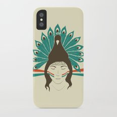 The princess and the peacock iPhone X Slim Case