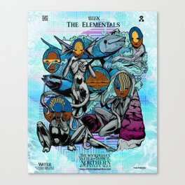 The Hyoeperian Water Tribe of The Northern Atlantean Seas Canvas Print