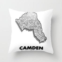 Camden - London Borough - Simple Throw Pillow