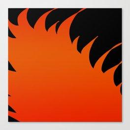 Flame Canvas Print