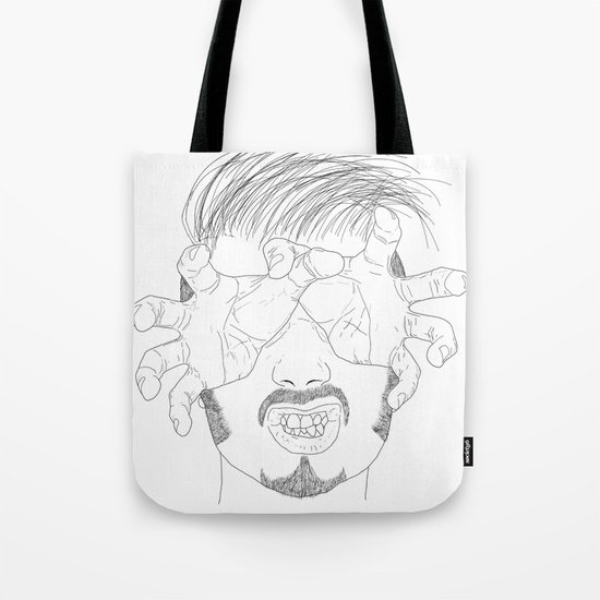 I'm grabbing your eyes baby ! Tote Bag