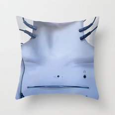 Cd Player Throw Pillow