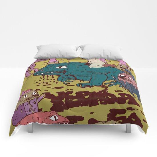 black toad Comforters