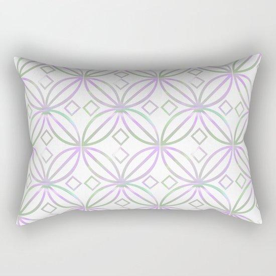 Floral Pattern - JUSTART © Rectangular Pillow
