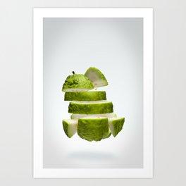 Flying Guava Art Print