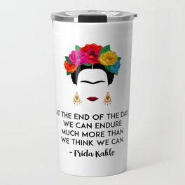 Frida's Strength Travel Mug