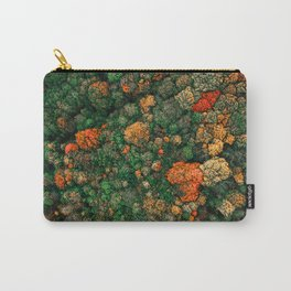 Autumn Forest Aerial Photography Carry-All Pouch