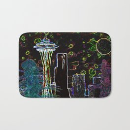 Sychedelic Seattle Bath Mat
