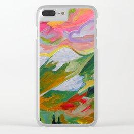 Coquihalla Sunrise Clear iPhone Case