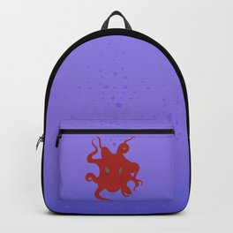 Octopus is coming out of the bubble Backpack