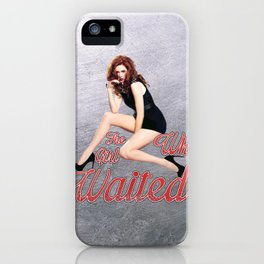 The Girl Who Waited. iPhone Case