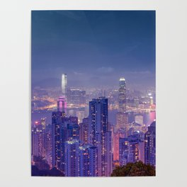Hong Kong View V Poster