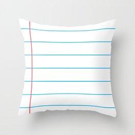The Writer Throw Pillow