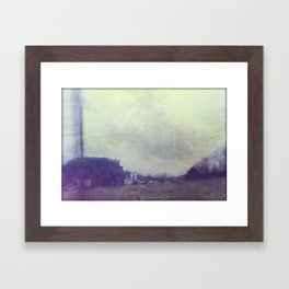 Industrial Landscape #1 Framed Art Print