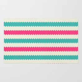 Rainbow Stripes 3 Rug