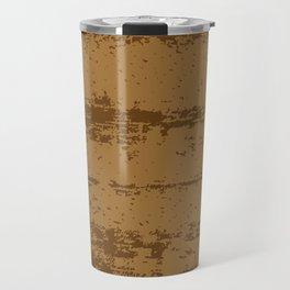 Wood Grain Background Travel Mug