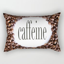 Caffeine Rectangular Pillow