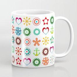 Marine abstract ornament 2 Coffee Mug