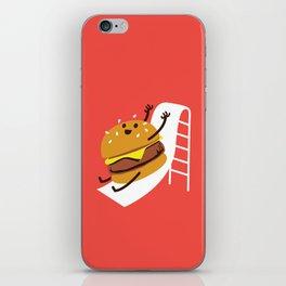 Slider Burger iPhone Skin