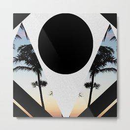 Summer Tropics Metal Print