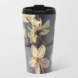 Cherry blossom tree in the blue Travel Mug