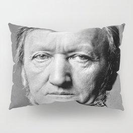 Franz Hanfstaengl - portrait of Wagner Pillow Sham