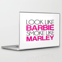 barbie Laptop & iPad Skins featuring Barbie by I Love Decor